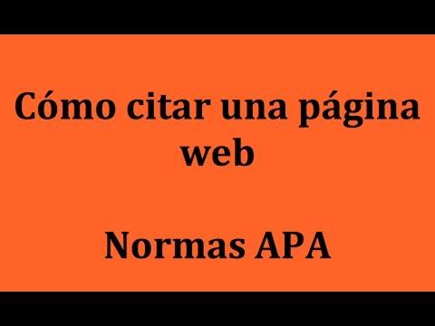 Citas web segun apa-168122